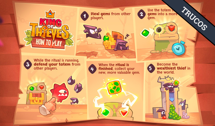 El Jugón de Móvil Guías y Trucos King Of Thieves Como Jugar