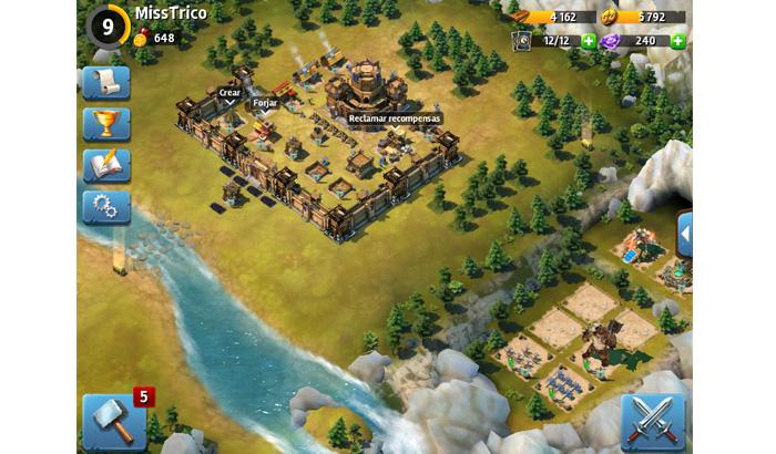 El Jugón de Móvil Siegefall partida