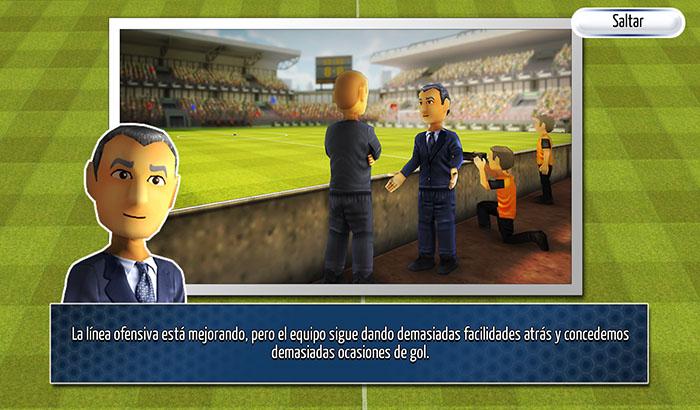 El Jugón de Móvil Striker Soccer América Partida 2
