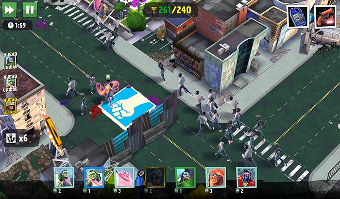 El Jugón de Movil Análisis World Zombination partida 1