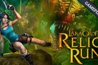 El Jugón de Móvil Gameplay Lara Croft Relic Run mi primera partida