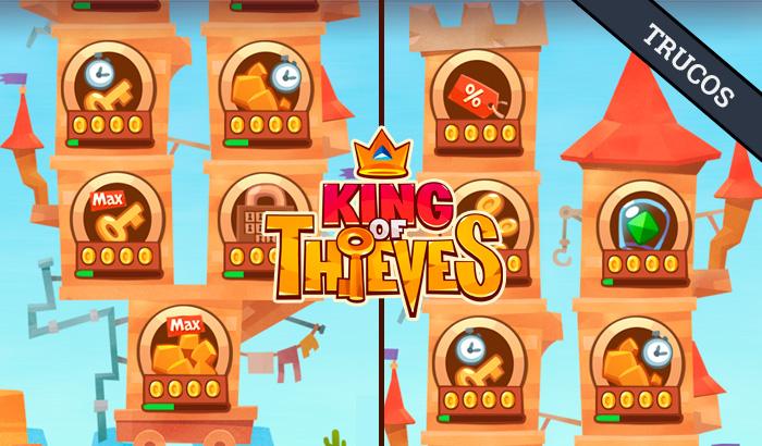 El Jugón de Móvil Guías y Trucos King Of Thieves Mejora disponibles portada
