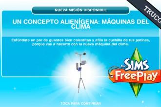El Jugón de Móvil Guías y Trucos Los Sims Free Play - Misión 15 Un concepto alienígena