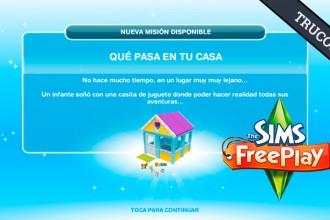 El Jugón de Móvil Guías y Trucos Los Sims Free Play - Misión 13 Qué pasa en tu casa