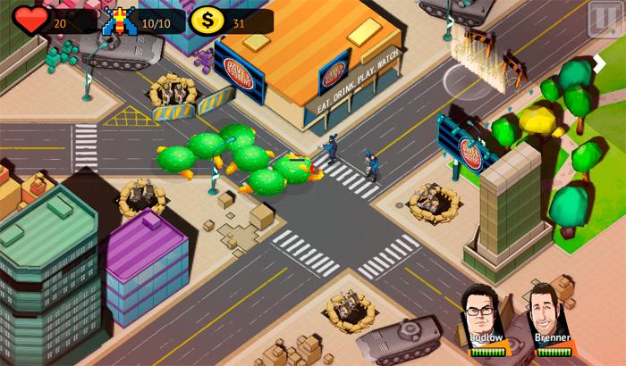 El Jugón De Móvil Análisis Pixels Defense partida