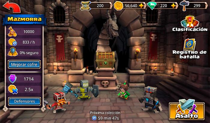 El Jugón De Móvil Análisis Dungeon Boss Partida 2