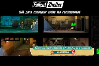 El Jugón de Móvil guías y trucos Fallout Shelter - Como conseguir todas las recompensas