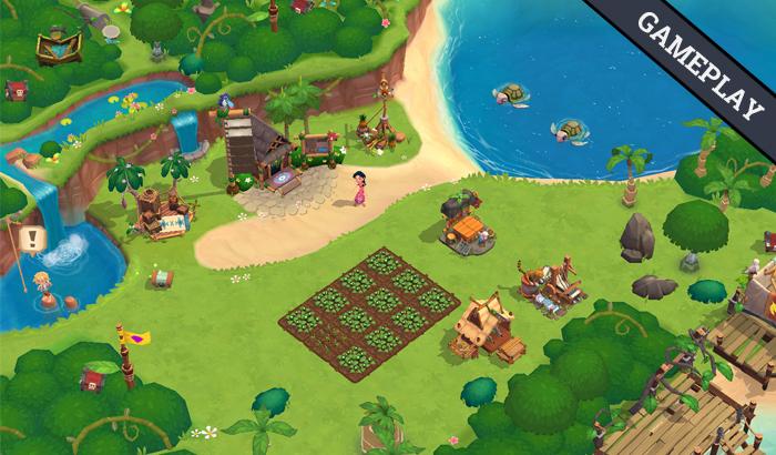 El Jugón De Móvil Paradise Bay Gameplay
