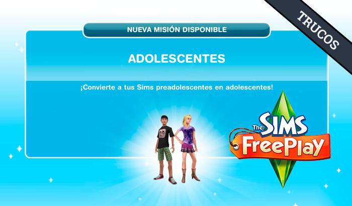 El Jugón de Móvil Guías y Trucos Los Sims Free Play - Misión 19 Guía para viajar al aire libre