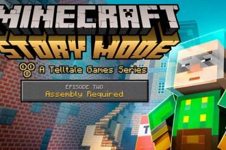 El Jugón De Móvil Lanzamiento de Minecraft Story Mode - Episodio 2