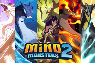 Portada para el análisis de Mino Monsters 2 Evolution