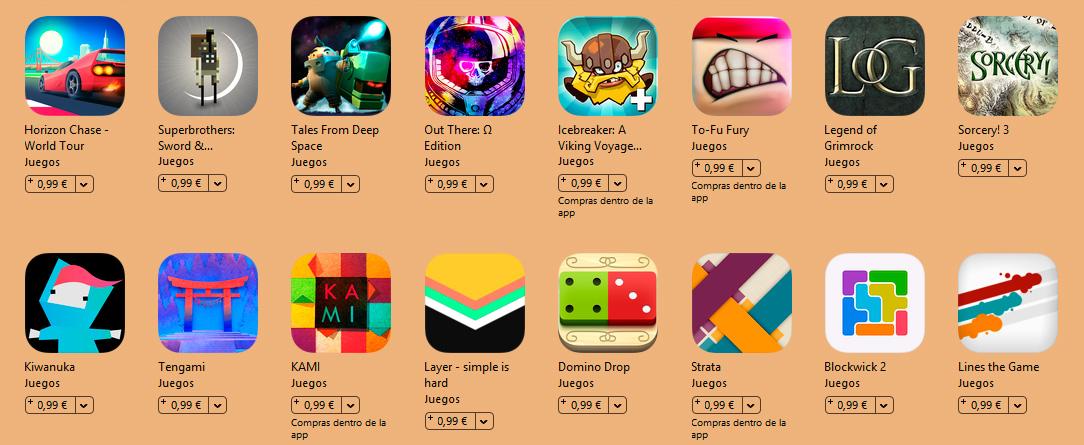 El Jugón De Móvil - Juegos rebajados en iTunes