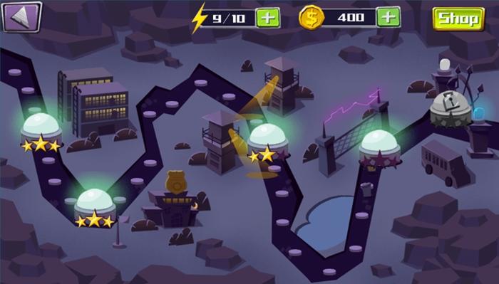 El Jugón de Movil - Break the Prision - Mapa de los niveles en el juego