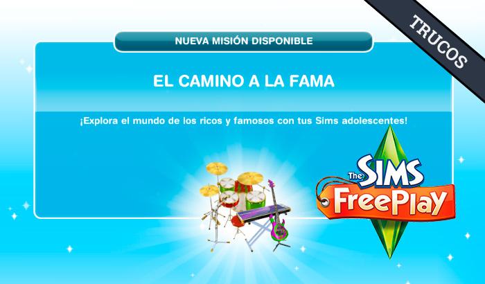 El Jugón de Móvil Guías y Trucos Los Sims Free Play - Misión 23 Guía El camino a la fama