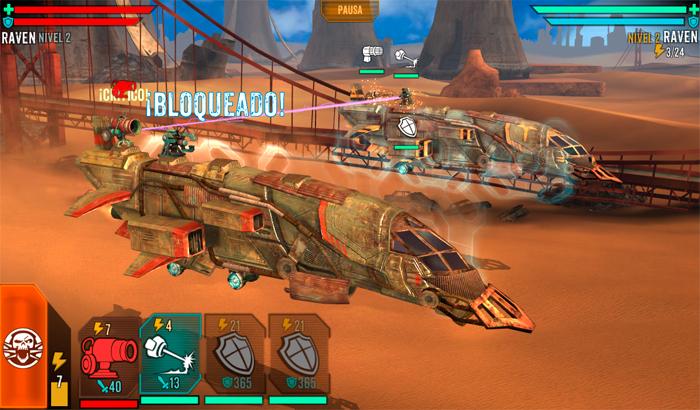 El Jugón De Móvil Sandstorm: Pirate Wars Partida