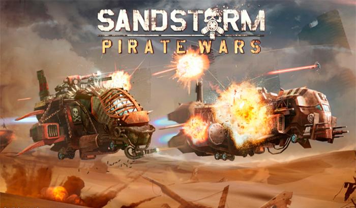 El Jugón De Móvil Sandstorm: Pirate Wars Portada
