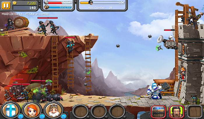 Análisis Juego The Onion Knights