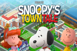 El Jugón De Móvil Análisis Snoopy's Town Tale Portada