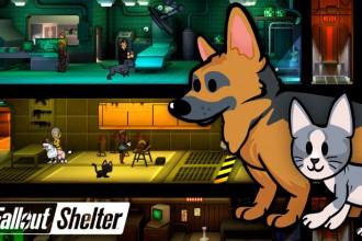 Actualización Fallout Shelter 1.3 - Se incluyen mascotas en el refugio