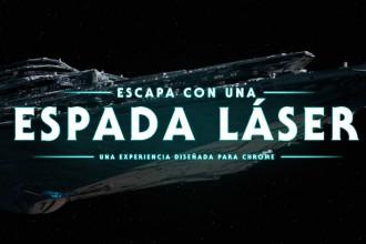 El Jugón De Móvil - Escapada con una espada laser de Star Wars