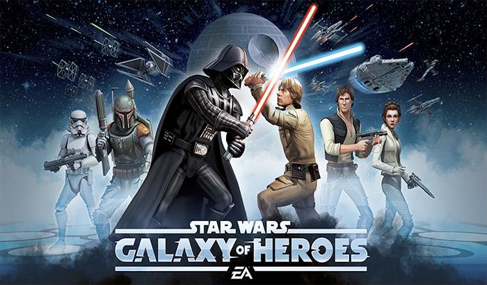 Imagen de portada análisis star wars galaxy of heroes