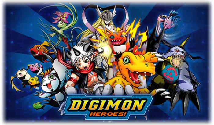 El Jugón De Móvil Digimon Heroes Portada