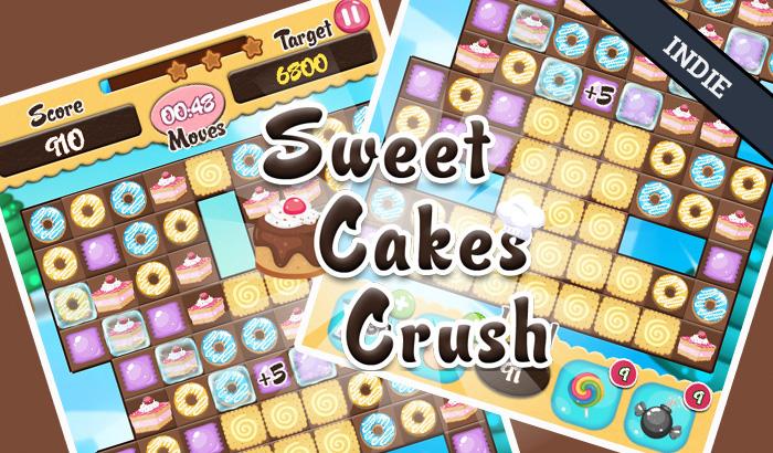 El Jugón De Móvil - Juego indie Sweet Cakes Crush