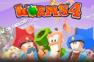 El Jugón De Móvil Worms 4 Portada
