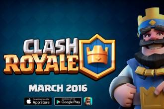 El jugón de móvil Lanzamiento mundial Clash Royale