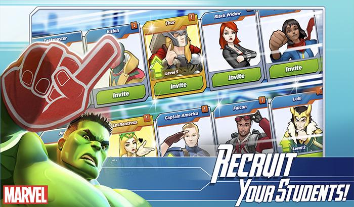 Imagen cuerpo de analisis de marvel Avengers Academy