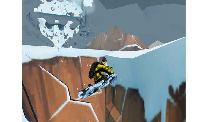 El Jugón De Móvil Análisis Snowboarding The Fourth Phase Modo Foto