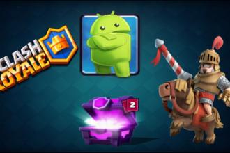 El jugón de móvil Clash Royale Android
