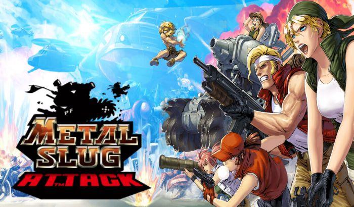 Portada Metal Slug Attack El Jugón de Móvil