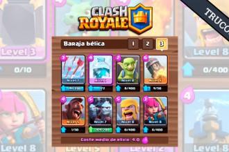 El Jugón De Móvil Mazo Clash Royale