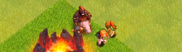 Actualización de Clash of Clans - Apariencia de las nuevas tropas