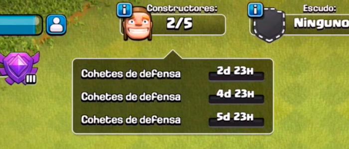 Actualización de Clash of Clans - Nuevo menú de constructores