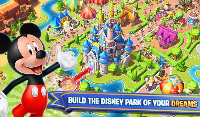 El Jugón De Móvil Disney Magic Kingdoms