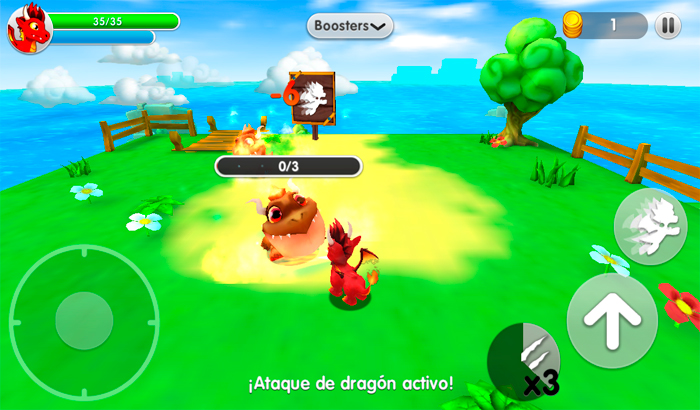 El Jugón De Móvil Dragon Land Partida 2