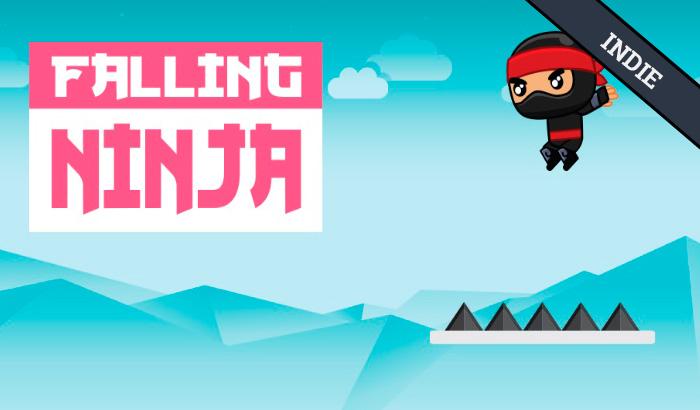 El Jugón De Móvil - Juego indie Falling Ninja