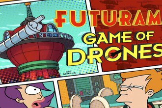 Imagen de portada para analisis de futurama game of drones