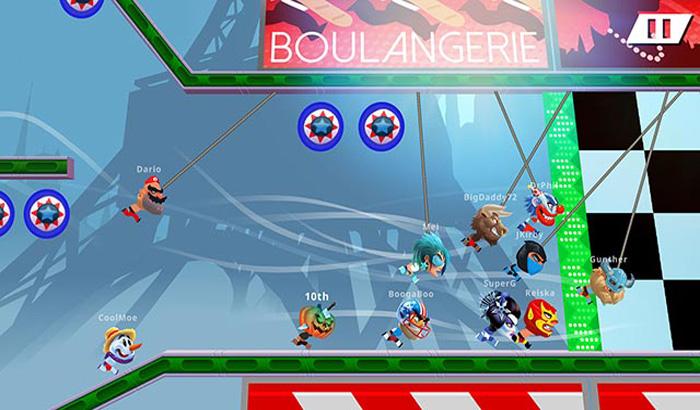 El jugón de móvil - Análisis de Rope Racers