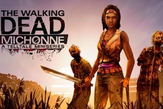 Portada de TWD:Michonne para el jugon de movil