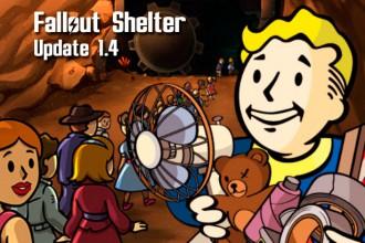 El Jugón De Móvil Actualización 1.4 de Fallout Shelter