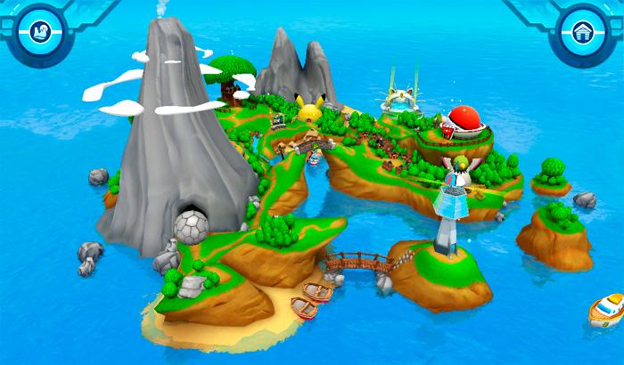 El Jugón De Móvil Campamento Pokemon partida