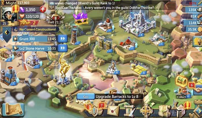 Imagen cuerpo de análisis Lords Mobile