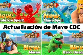 El Jugón De Móvil - Actualización de Mayo de Clash of Clans
