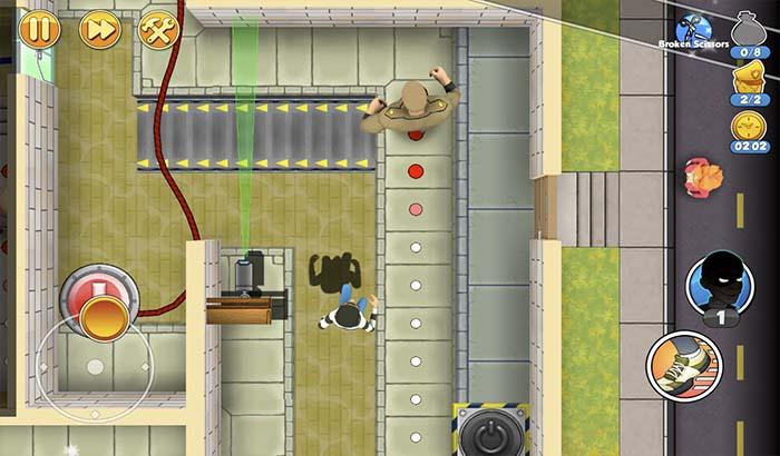 imagen cuerpo de análisis Robbery bob 2