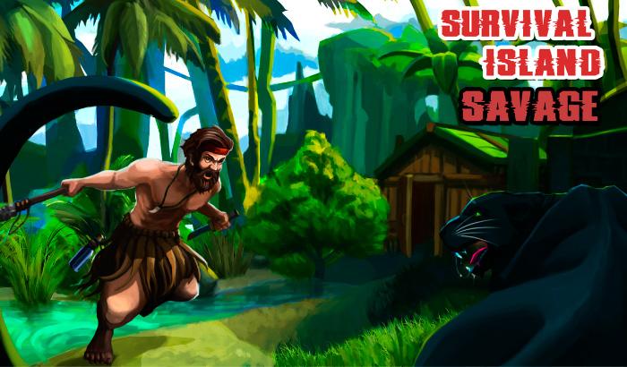 El Jugón De Móvil Jugando Survival Island 2016: Savage