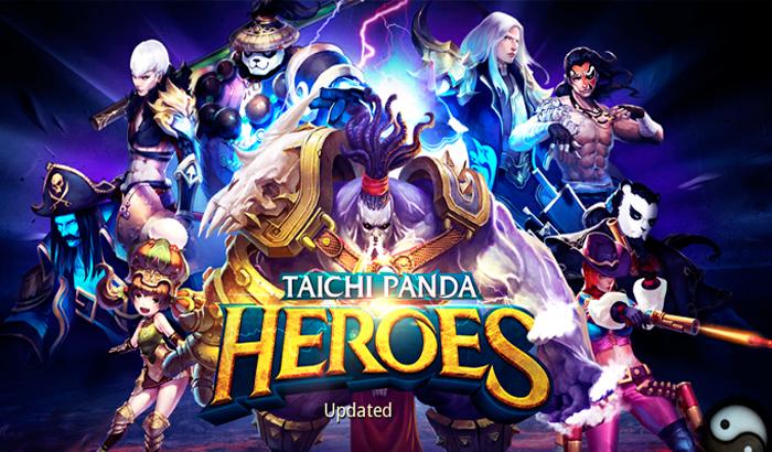El Jugón De Móvil Taichi Panda: Heroes portada