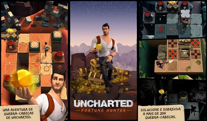 El Jugón De Móvil Uncharted Fortune Hunter